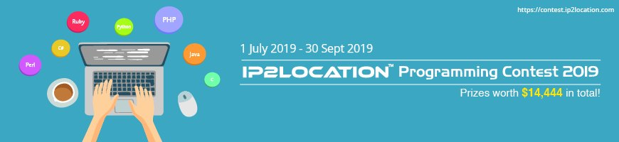 IP2Location Programming Contest 2019